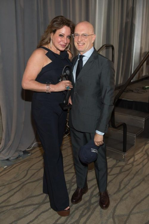 couple posing for camera at gala