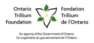 Ontario Trillium Foundation Logo, An agency of the Government of Ontario